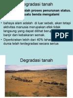 Degradasi tanah, 2