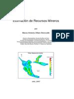 Evaluación de Recursos Mineros - Marco Alfaro {USACH}
