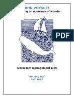 ed110- classroom mgmt plan