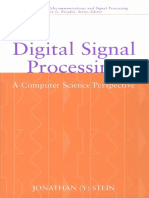 76951443 Digital Signal Processing a Computer Science Perspective