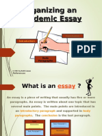 Intro to Essay