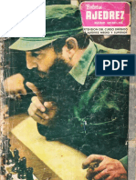 Boletin Ajedrez Radio Rebelde 1979 No 3 Año 2
