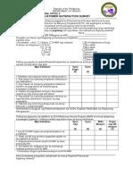 BISAYA Survey Form