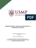 Opinion Comunicacion Marketing Politico