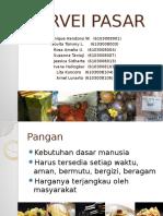 Survei Pasar Presentasi