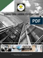 Brochure Seguridad y Salud en el Trabajo