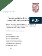 Impacto Ambiental de Aceites y Grasas