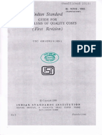 IS10708-1985-Guideline for Analysis for Quality Cost