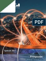 Prospectul de emisiune pentru operaţiunea de listare a companiei DIGI RDS  la Bursa de Valori Bucureşti