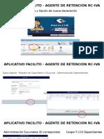 Aplicativo Facilito - Agente de Retención Rc-iva