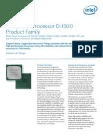 Xeon Processor d Platform Brief