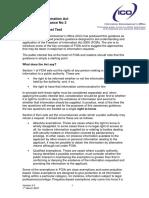 Awareness Guidance 3 Public Interest Test