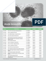 ELISA Kits for Acute Bronchitis Research
