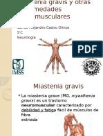 Miastenia Gravis y Otras Enfermedades Neuromusculares