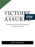 Victoire Assuree Rick Renner