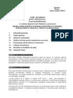 CAIETUL de SARCINI Pt Realizarea Unui Plan de Marketing Pt Finantarea Proiectului Reabilitarea Buisericii Evanghelice