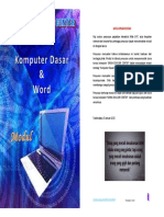 Modul komputer dasar word