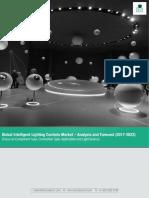 Global Intelligent Lighting Controls Market Analysis & Forecast 2017-2023