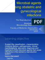 1. Microbial Agents of Obstetric and Gynecological Infections