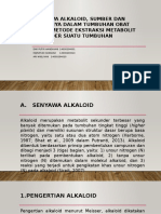 Senyawa Alkaloid, Sumber Dan Perannya Dalam Tumbuhan
