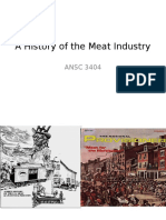 2. History of the Meat Industry