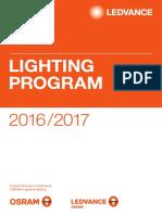 Ledvance Lighting Program Osram 2016-17