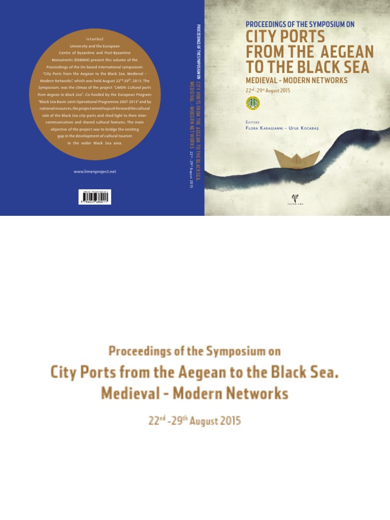 City ports from the aegean to the black sea medieval modern city ports from the aegean to the black sea medieval modern networks black sea turkey fandeluxe Images