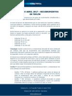 Diccionario Abril 2017 - Recubrimientos en Teflón