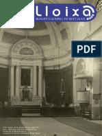 LLOIXA. Número 150 març/marzo 2012. Butlletí informatiu de Sant Joan. Boletín informativo de Sant Joan