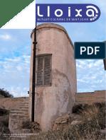 LLOIXA. Número 154, juliol/julio 2012. Butlletí informatiu de Sant Joan. Boletín informativo de Sant Joan