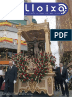 LLOIXA. Número 155, septiembre/setembre 2012. Butlletí informatiu de Sant Joan. Boletín informativo de Sant Joan