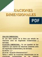 Análisis Dimensional
