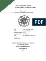Laporan Resmi Praktikum p1 Steril