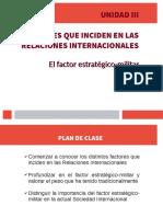 Factor Estratégico-Militar profesora Nieves. RR. II.