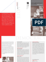 Learning Democracy Brochure