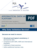Aeronautical Data Validation Platform by m-click.aero GmbH