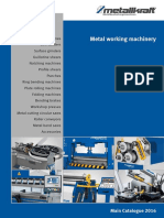 Metallkraft Metal Working Machinery - Main Catalogue 2016