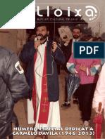 LLOIXA. Número 161, marzo/març 2013. Butlletí informatiu de Sant Joan. Boletín informativo de Sant Joan