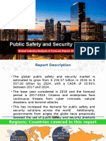 Public Safety and Security Market | Global Industry analysis & forecast Report 2017-2024