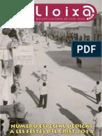 LLOIXA. Número 176, setembre/septiembre 2014. Butlletí informatiu de Sant Joan. Boletín informativo de Sant Joan