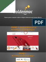 Pasos para comprar el iPad en GOLDENMAC