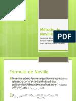 Metodo de Neville