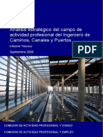 Análisis Estratégico del Campo de Actividad Profesional del Ingeniero de Caminos, Canales y Puertos
