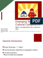 shah emerging trends korean