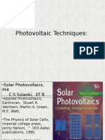 Lect 1 2 Photovoltaic Energy