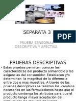 Evaluacion Sensorial Separata 3