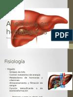 Anestesia en Hepatopatas