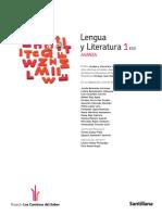 1eso lengua Santillana Avanza