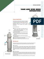 Vane & Wire Mesh Separators