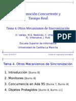 PCTR T4 Otros Mecanismos Sincronizacion
